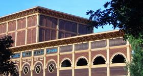 A WOODEN BUILDING, CUMBA
